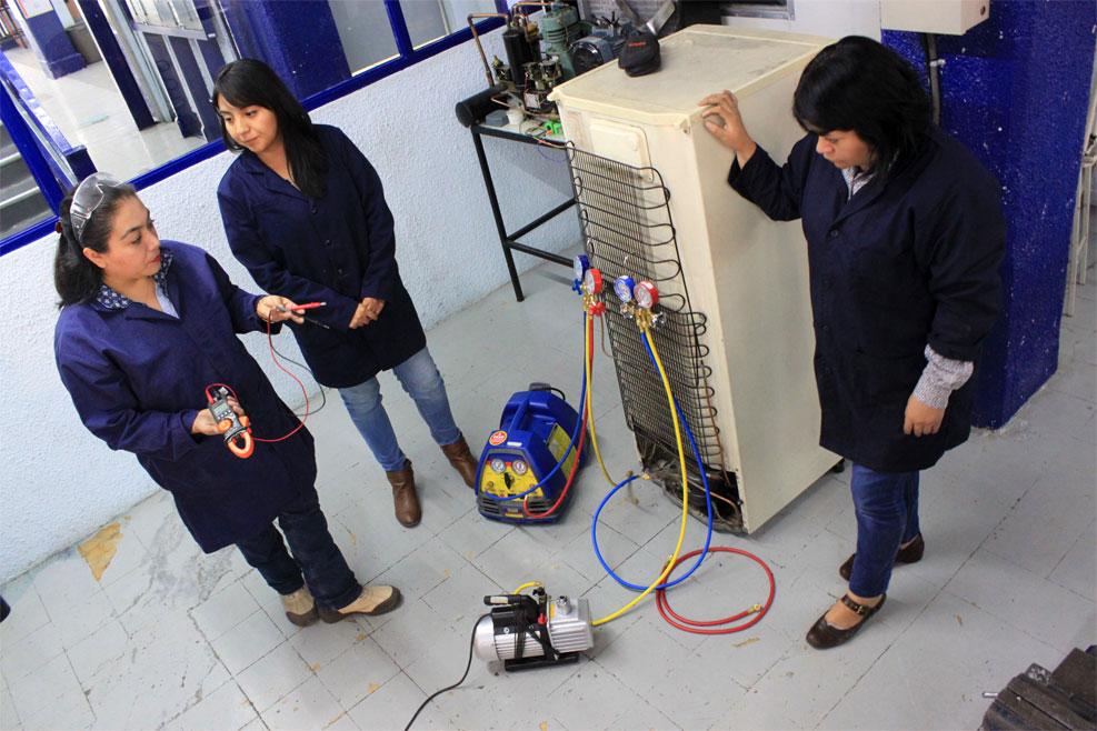 Carrera en refrigeración y aire acondicionado